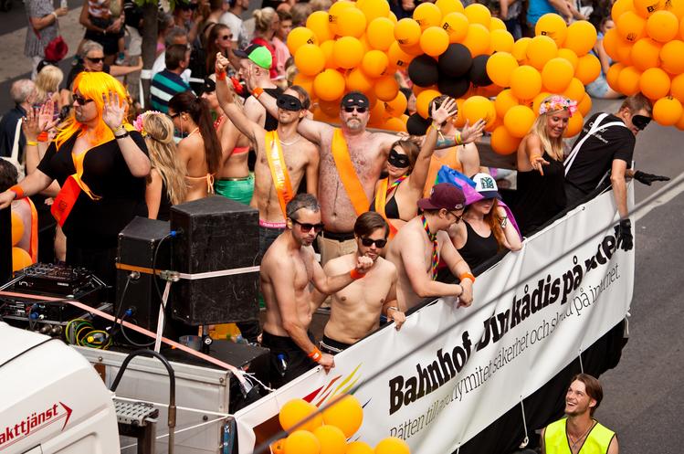 Gay Pride de Stockholm