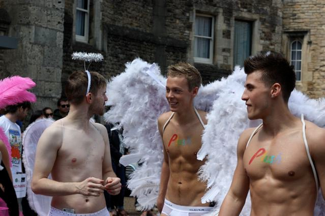 Gay Pride d'Oxford