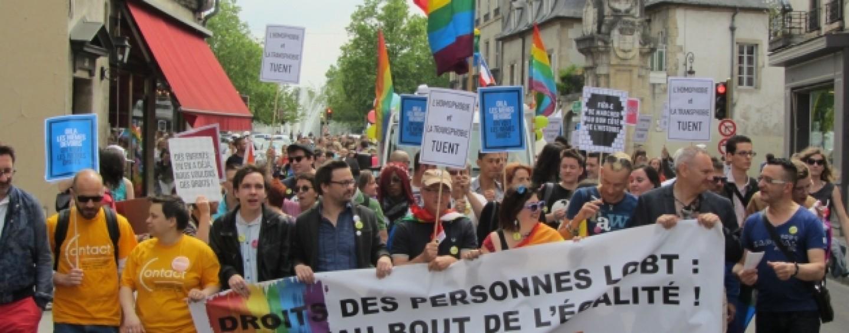 600 personnes à la Gay Pride de Dijon