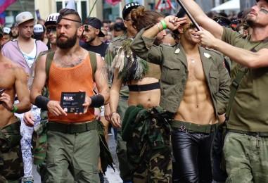 80 000 personnes à la Gay Pride de Bruxelles