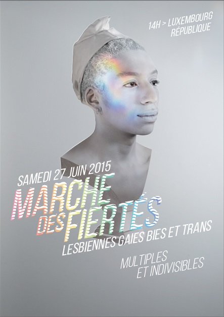 Affiche de la Gay Pride de Paris 2015
