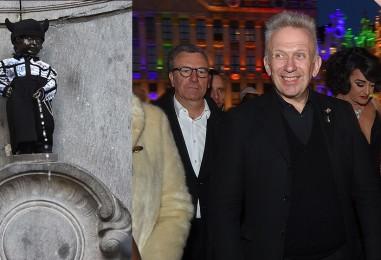 Manneken-Pis habillé par Jean-Paul Gaultier pour les 20 ans de la Gay Pride de Bruxelles