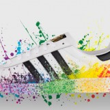 Des chaussures gay signés Adidas