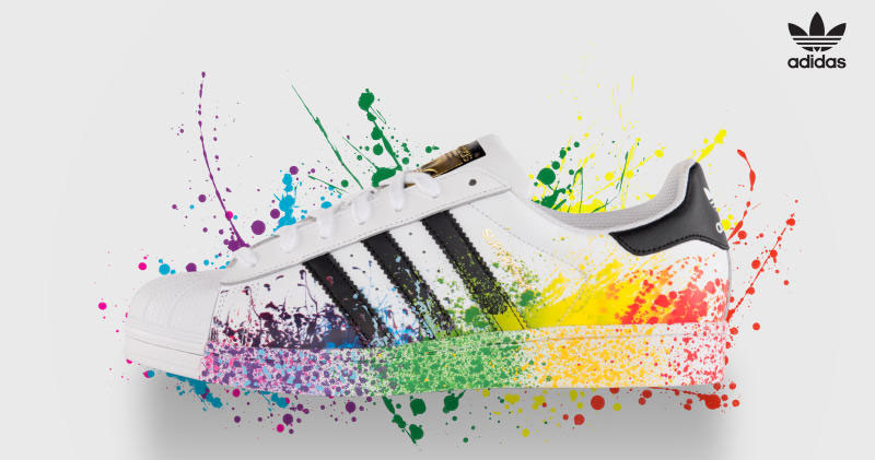 Chaussures gay Adidas
