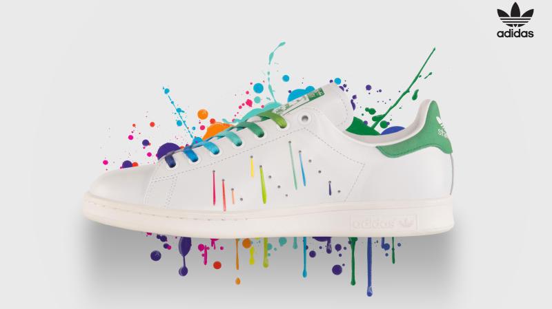 Souliers gay Adidas