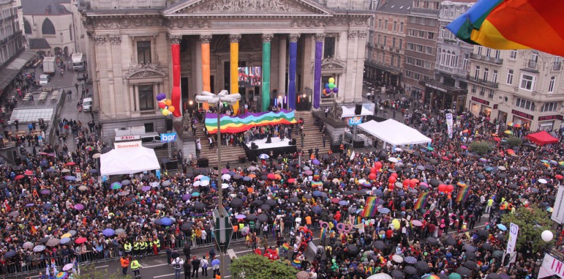 Dans un mois commence la Gay Pride de Bruxelles