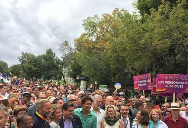 Gay Pride de Montréal 2016 : Justin Trudeau y était