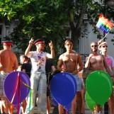 Parcours de la Gay Pride de Paris 2018