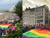La Gay Pride de Biarritz en même temps que le retour des Casetas