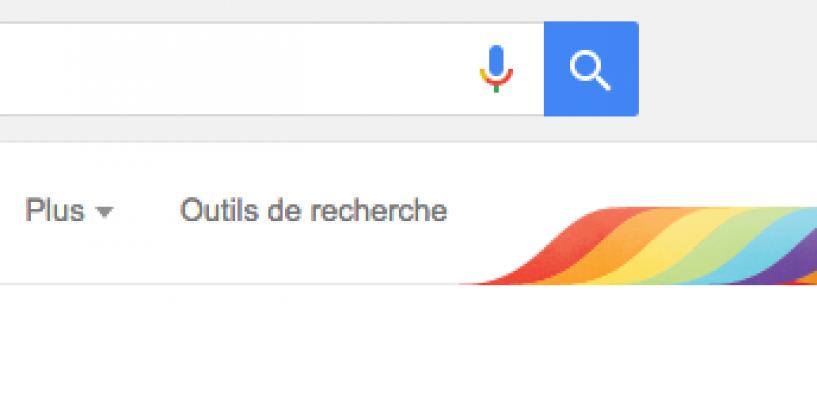 Google affiche le drapeau gay