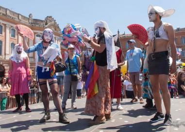 Parcours de la Gay Pride de Toulouse 2018