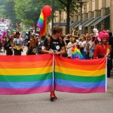 La Gay Pride 2018 de Paris contre les discriminations