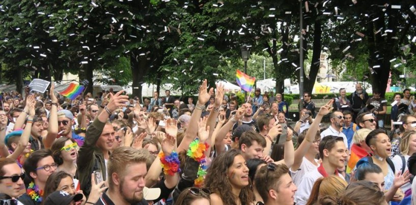 Parcours de la Gay Pride de Lille 2018