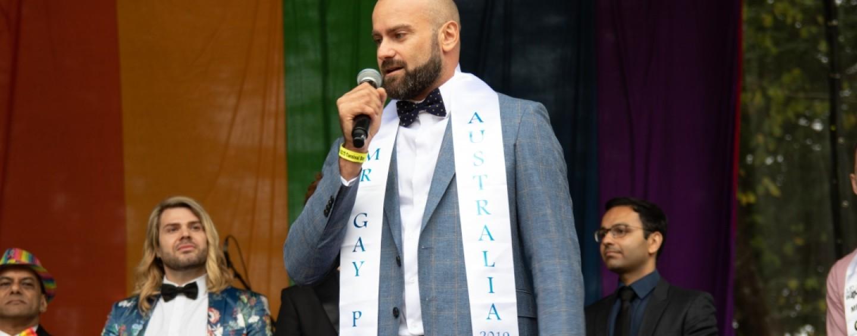 M. Gay Pride Australia 2020 se tiendra à Hay, Nouvelle-Galles du Sud