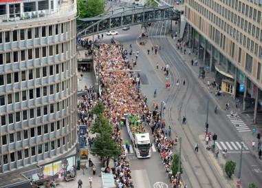 Programmation de la gay pride d'Oslo 2020