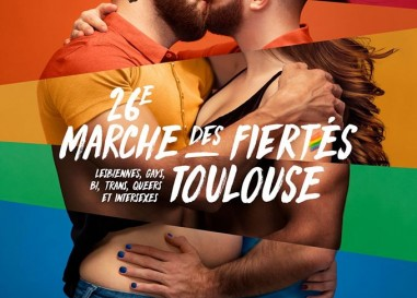 Gay Pride de Toulouse 2020 : l'affiche officielle