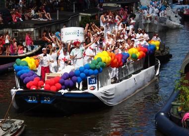 Allez-vous faire la gay boat d'Amsterdam cette année?