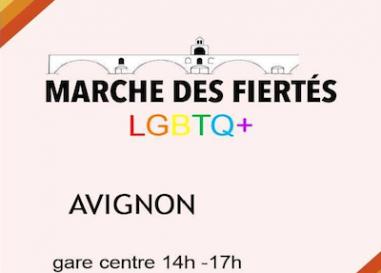 Plus de 150 personnes présentes lors de la gay pride d'Avignon 2021